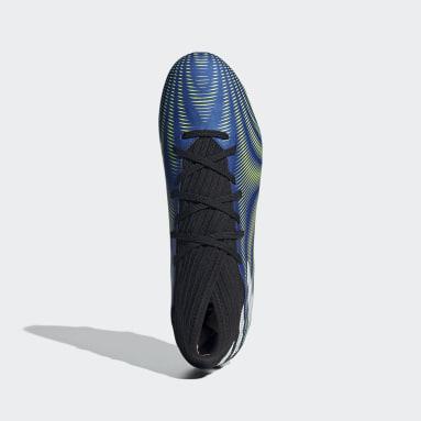 Zapatos de fútbol Nemeziz.3 Terreno Firme Azul Hombre Fútbol