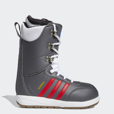 Men Winter Sports Grey Samba ADV Boots