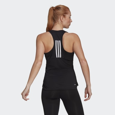 Women Training Black Primeblue Designed 2 Move 3-Stripes Sport Tank Top