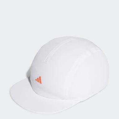 เทรนนิง สีขาว หมวกแก๊ปทรง Four-Panel AEROREADY Running Training Cycling