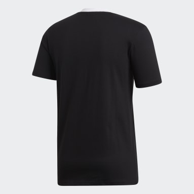 Männer Rugby All Blacks Home T-Shirt Schwarz