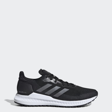 Men Running Black Solar Blaze Shoes