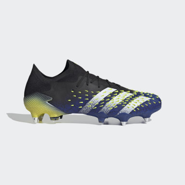Football Black Predator Freak.1 Soft Ground Boots