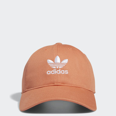 Women's Originals Orange Relaxed Strap-Back Hat