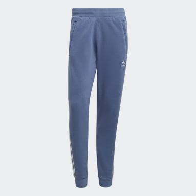 Muži Originals modrá Kalhoty Adicolor Classics 3-Stripes