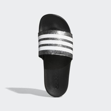 เด็ก ว่ายน้ำ สีดำ รองเท้าแตะ Adilette Comfort