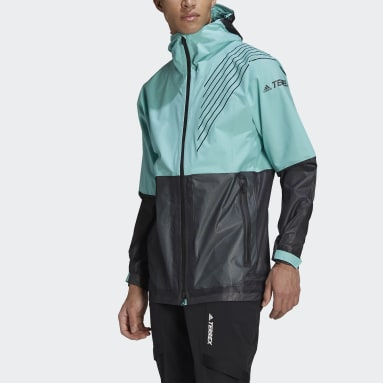 Chaqueta impermeable Terrex 3-Layer Zupahike Verde Hombre TERREX
