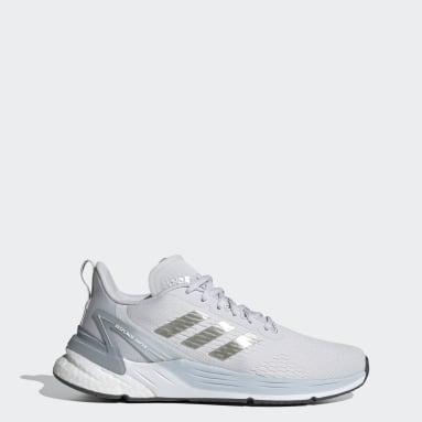 Women Running Grey Response Super Shoes