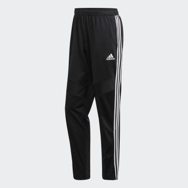 Men Gym & Training Black Tiro 19 Polyester Pants