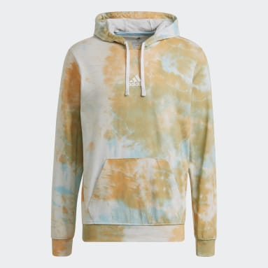 Herr Sportswear Orange Essentials Tie-Dyed Inspirational Hoodie