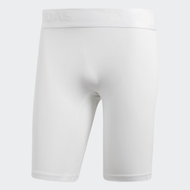 Alphaskin Sport Short Tights Bialy
