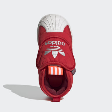 Infant & Toddler Originals Red Superstar 360 Boots