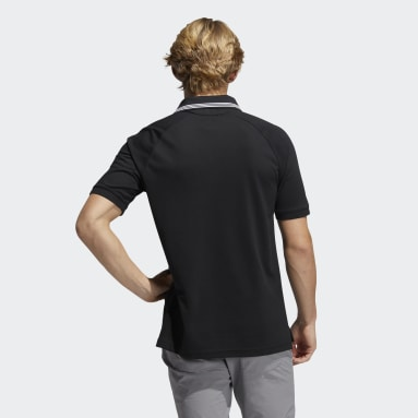 Heren Golf Zwart Go-To Primegreen Pique Poloshirt