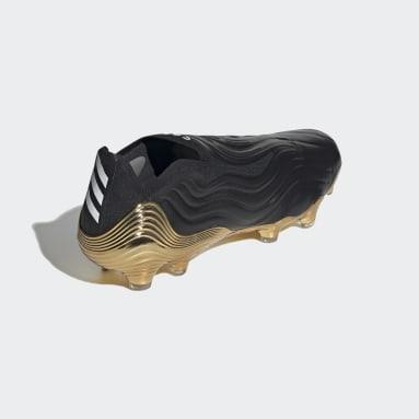 Fodbold Sort Copa Sense+ Firm Ground støvler