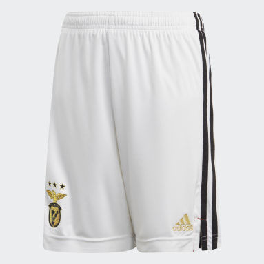 Benfica Hjemmeshorts Hvit
