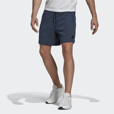 Men Sportswear Blue Essentials Mélange Shorts