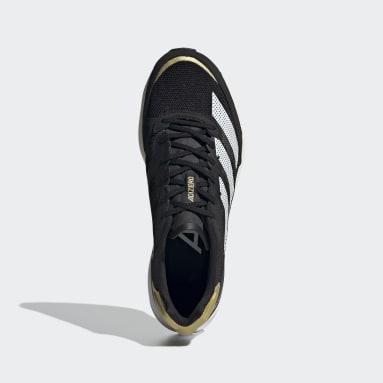 Women Running Black Adizero Adios 6 Shoes