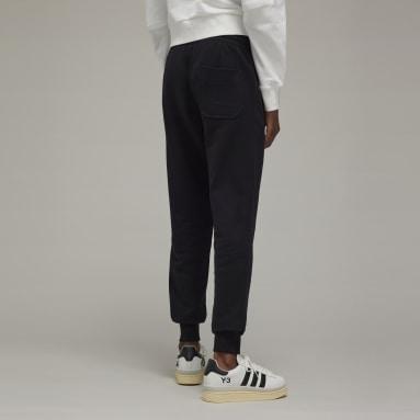 Pantalon Y-3 Classic Terry Cuffed Noir Femmes Y-3