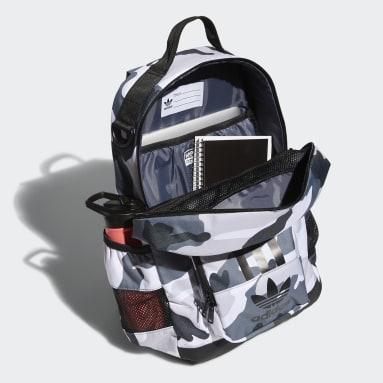Originals White 3-Stripes Backpack 2.0