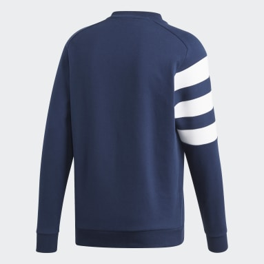 Men Handball Blue French Handball Federation Sweatshirt