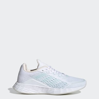 Women's Running White Duramo SL Shoes