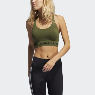 Women's Yoga Green Training Aeroknit Bra