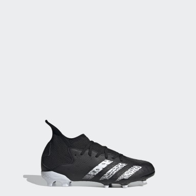 Children Soccer Black Predator Freak.3 Firm Ground Cleats