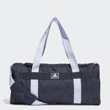 Volleyball Blue 4ATHLTS Duffel Bag Small