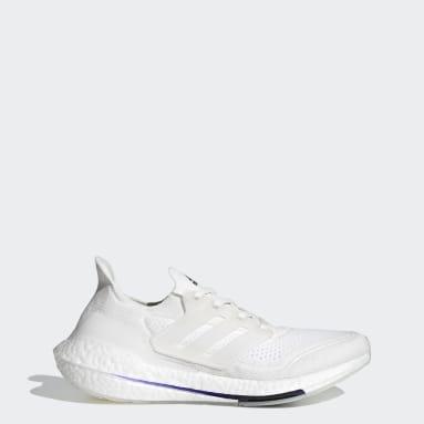 Running Ultraboost 21 Primeblue Laufschuh Weiß