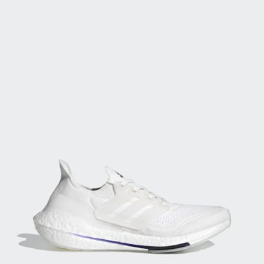 Men's Running White Ultraboost 21 Primeblue Shoes