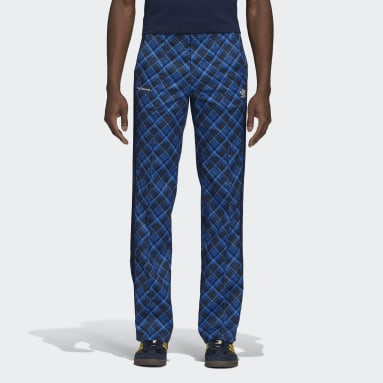 Men Originals Multicolor Wales Bonner Tartan Track Pants