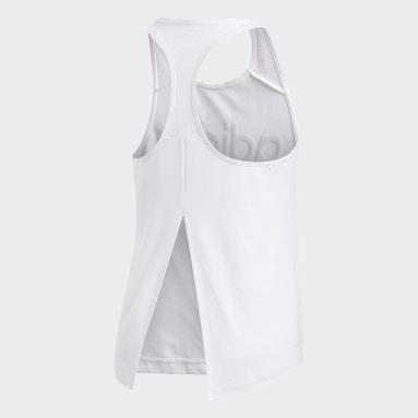 Débardeur Design 2 Move Logo Blanc Femmes Fitness Et Training