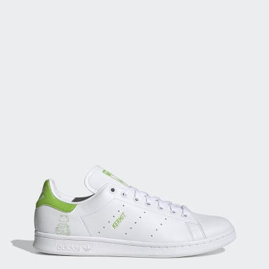 Men Originals White Stan Smith Kermit Shoes