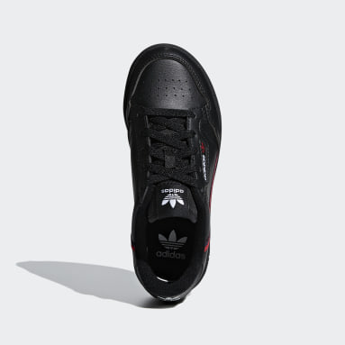Kids 4-8 Years Originals Black Continental 80 Shoes