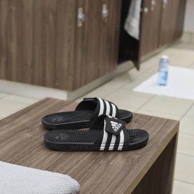 ว่ายน้ำ สีดำ รองเท้าแตะ Adissage