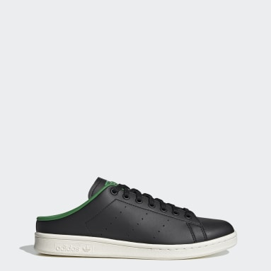 Men Originals Black Stan Smith Mules