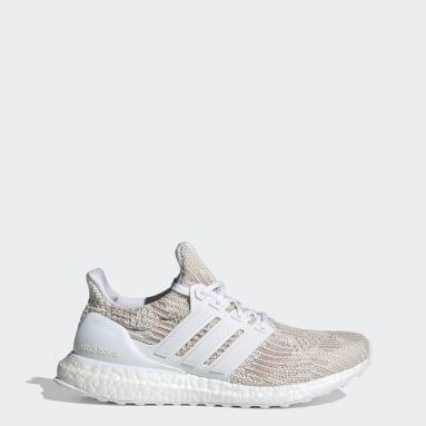 Sapatos Ultraboost 4 DNA Branco Mulher Running