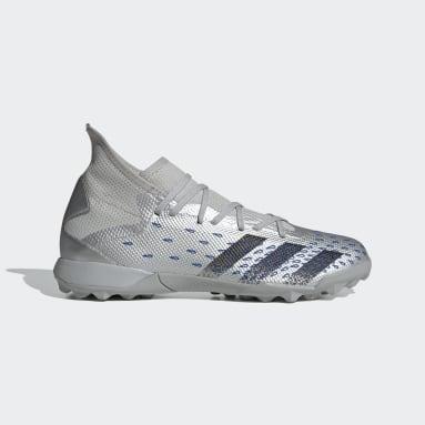 Soccer Silver Predator Freak.3 Turf Shoes