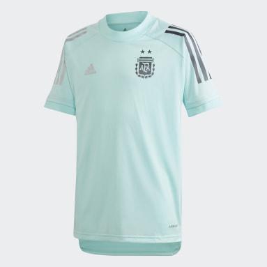 Camiseta Entrenamiento Argentina (UNISEX) Verde Niño Fútbol
