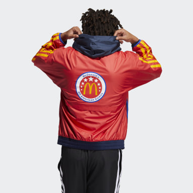 Basketball Red Eric Emanuel McDonald's Hoodie