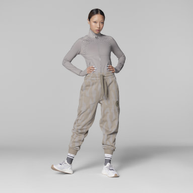 Frauen adidas by Stella McCartney adidas by Stella McCartney Sportswear College Jogginghose Braun