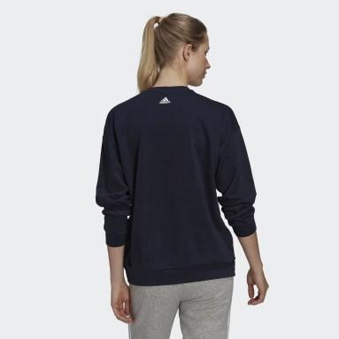 W UFORU SWT Bleu Femmes Sportswear