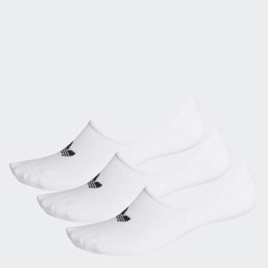 Originals สีขาว ถุงเท้าซ่อนขอบ (3 คู่)
