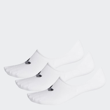 Originals White No-Show Socks 3 Pairs