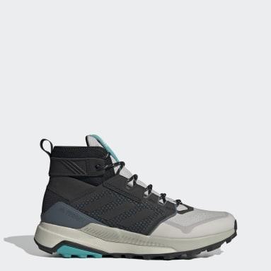 Zapatillas de Senderismo Terrex Trailmaker Corte Medio Gris Hombre TERREX