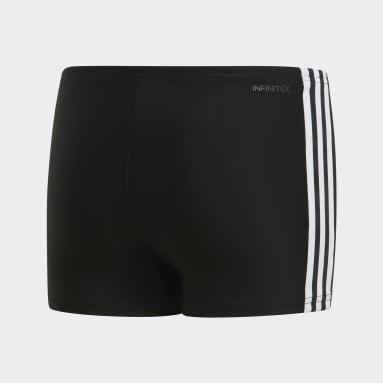 Sunga Boxer 3-Stripes Preto Meninos Natação