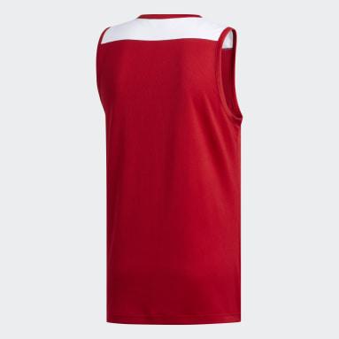 Maglia Creator 365 Rosso Uomo Basket