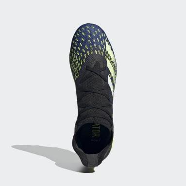 Fodbold Sort Predator Freak.3 Firm Ground støvler