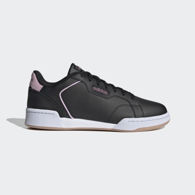 Women Sport Inspired Black Roguera Shoes