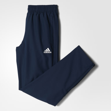 Pants Tiro 17 Azul Niño Fútbol